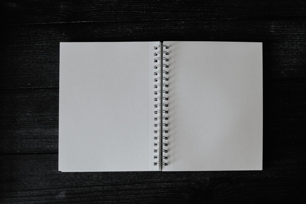 Start your journey by writing about yourself